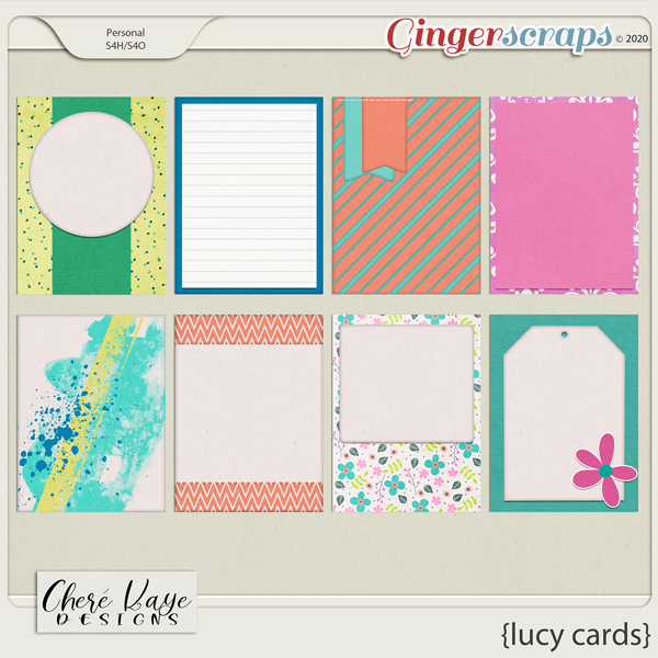 Lucy Cards by Chere Kaye Designs