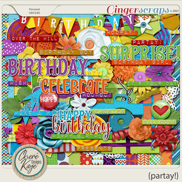 Partay by Chere Kaye Designs