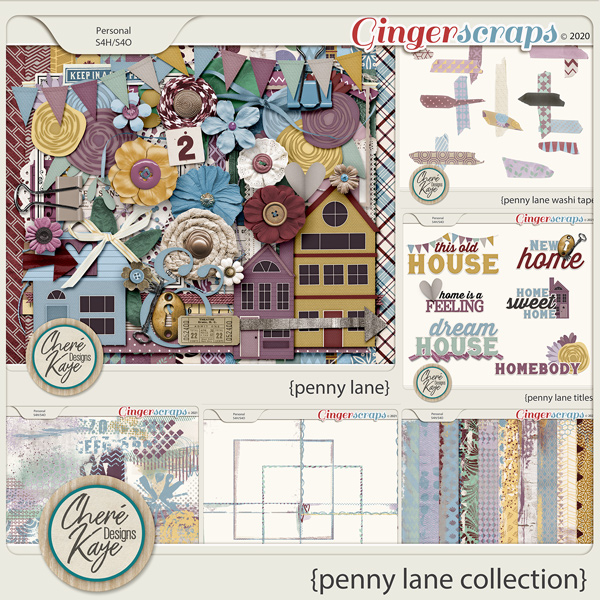 Penny Lane Collection by Chere Kaye Designs