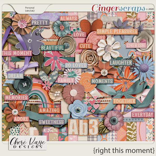 Right This Moment by Chere Kaye Designs