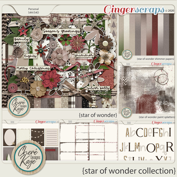 Star of Wonder Collection by Chere Kaye Designs