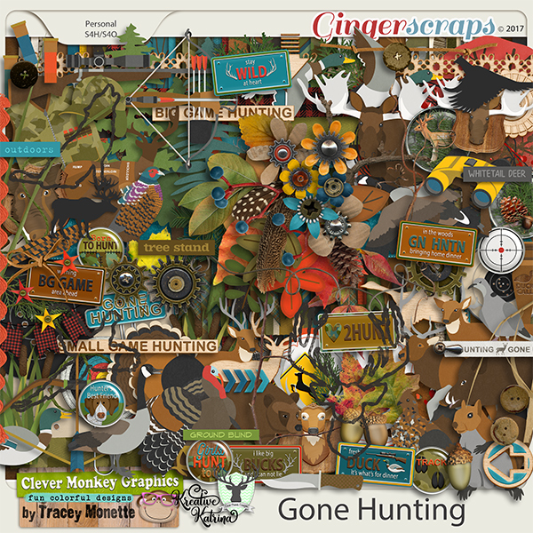 Gone Hunting by Clever Monkey Graphics  & Kreative Katrina