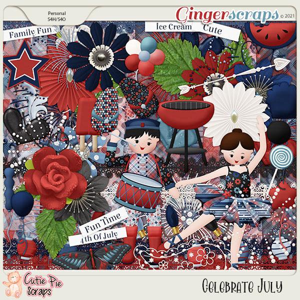 Celebrate July-Page Kit
