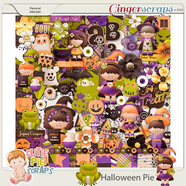 Halloween Pie-Page Kit