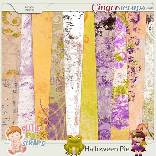 Halloween Pie-Shabby Chic BG