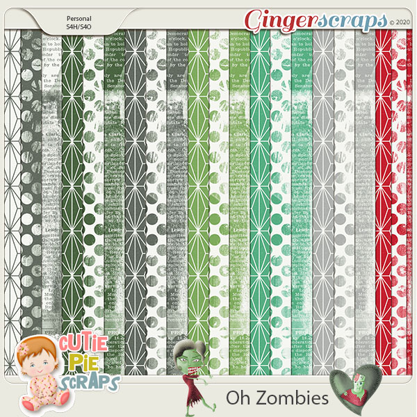 OH Zombies-Pattern Papers