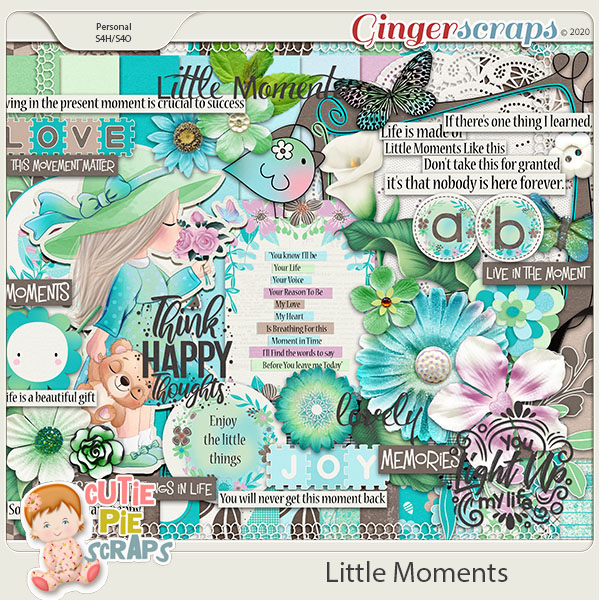 Little Moments Page Kit