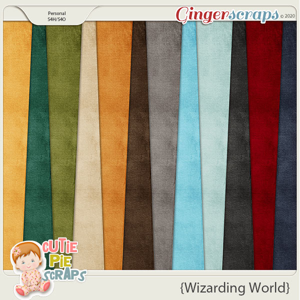 Wizarding World Solid Papers