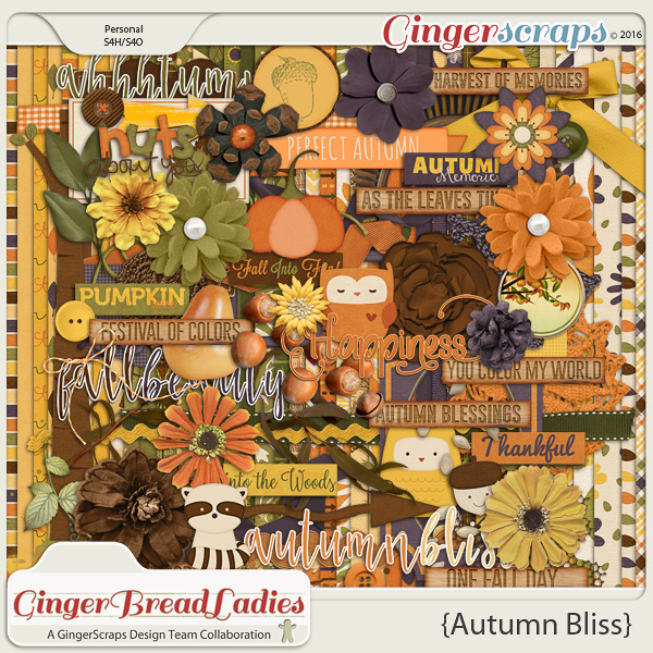 GingerBread Ladies Collab: Autumn Bliss