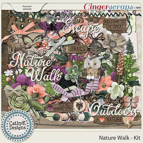 Nature Walk - Kit by CathyK Designs