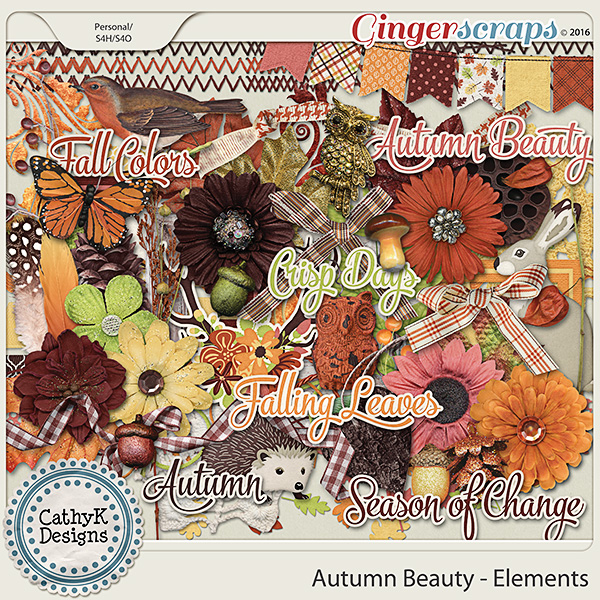 Autumn Beauty - Elements
