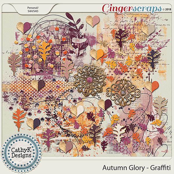 Autumn Glory - Graffiti by CathyK Designs