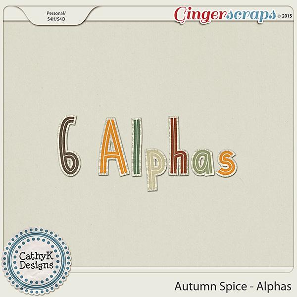 Autumn Spice - Alphas