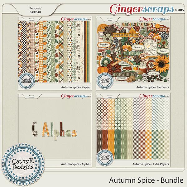 Autumn Spice - Bundle