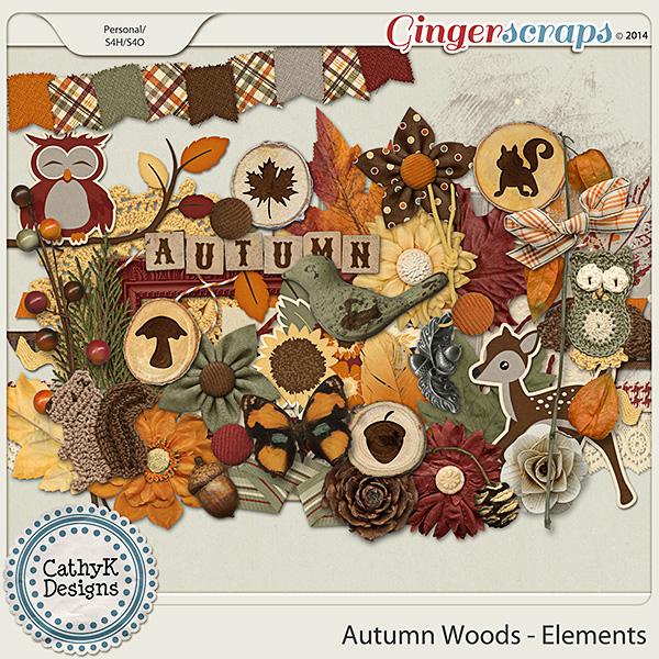 Autumn Woods - Elements