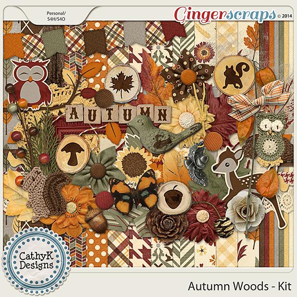 Autumn Woods - Kit