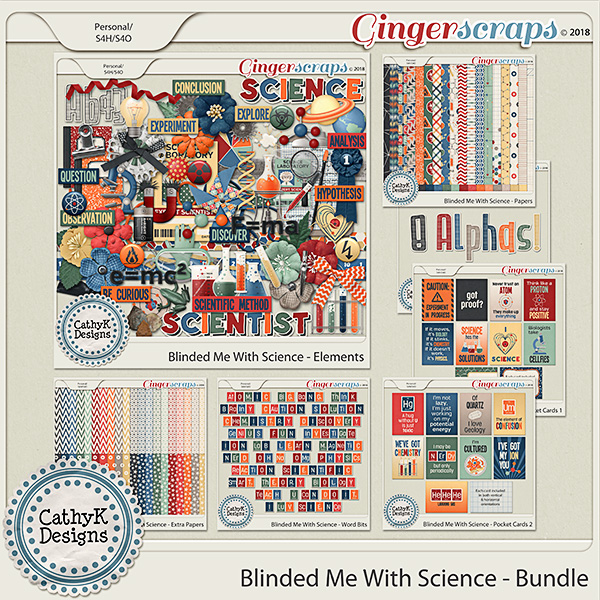 Blinded Me With Science - Bundle by CathyK Designs