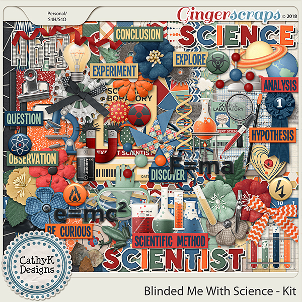 Blinded Me With Science - Kit by CathyK Designs