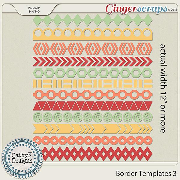 Border Templates 3