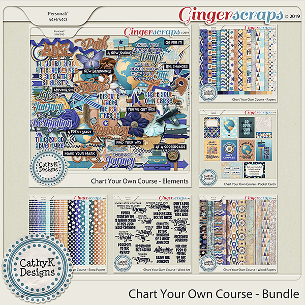 Chart Your Own Course -  Bundle by CathyK Designs