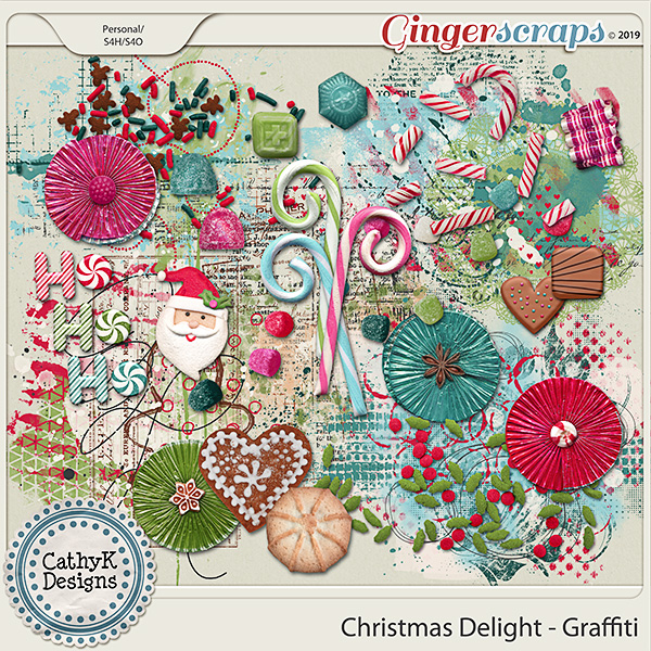 Christmas Delight - Graffiti by CathyK Designs