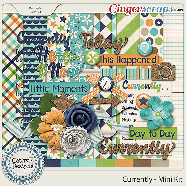 Currently - Mini Kit by CathyK Designs