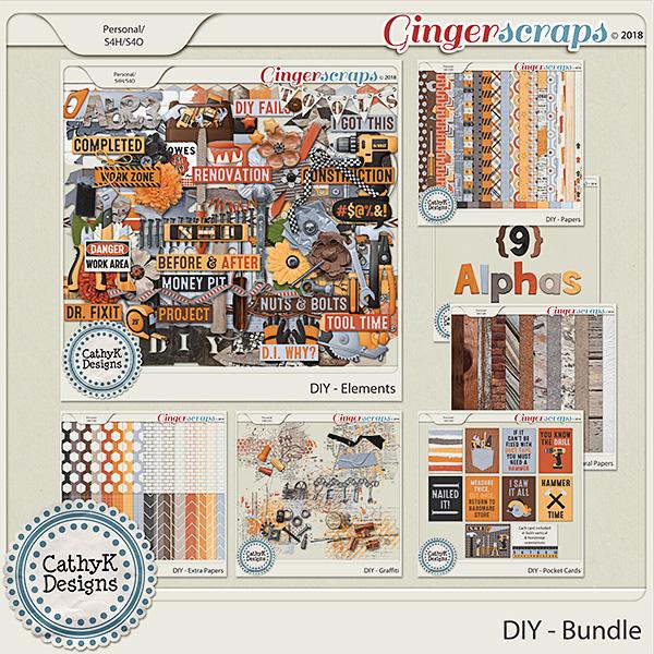 DIY - Bundle by CathyK Designs