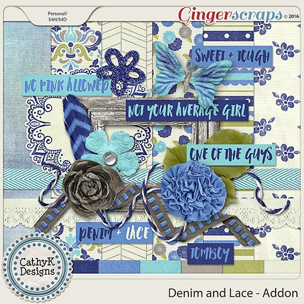 Denim and Lace - Addon Kit
