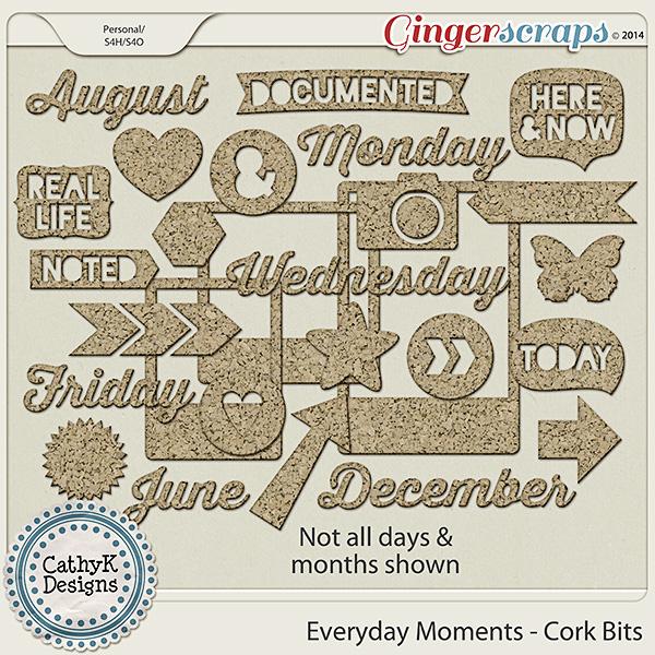 Everyday Moments - Cork Bits