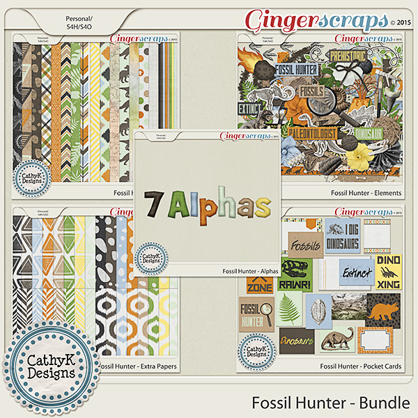 Fossil Hunter - Bundle