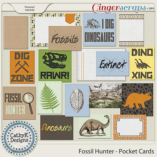 Fossil Hunter - Pocket Cards