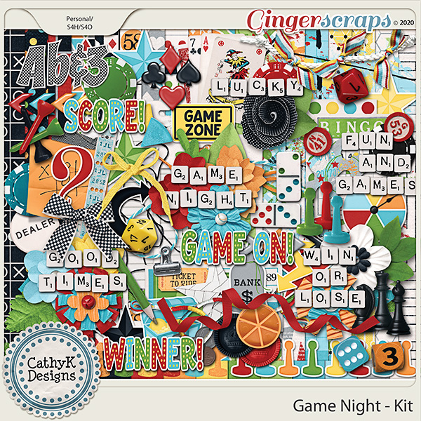 Game Night - Kit by CathyK Designs