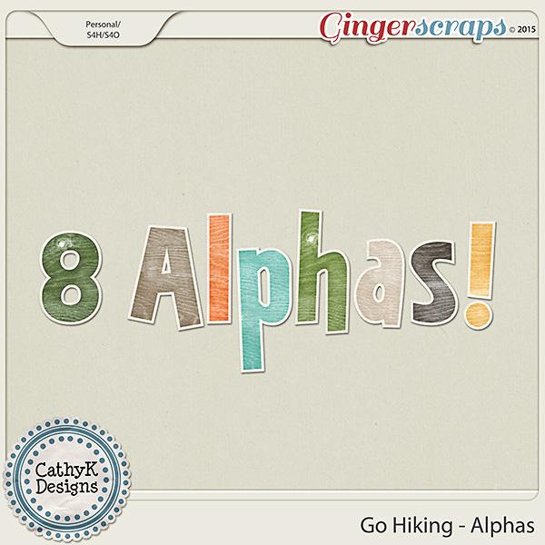 Go Hiking - Alphas