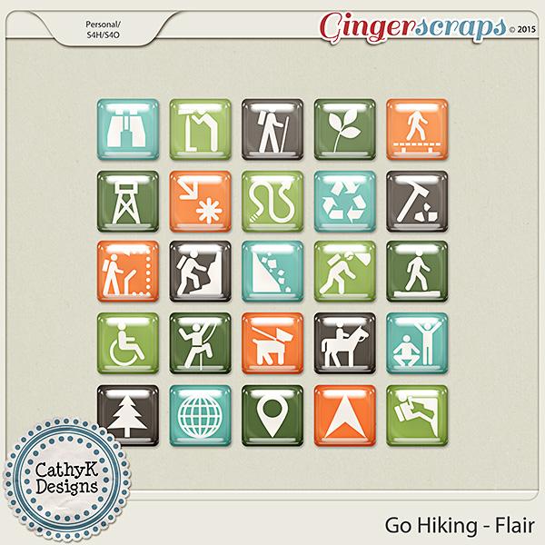 Go Hiking - Flair