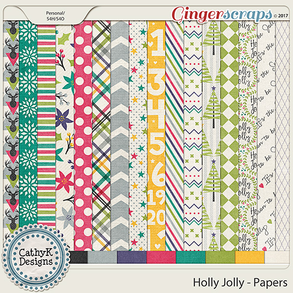 Holly Jolly - Papers
