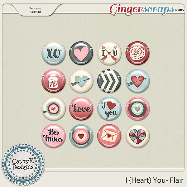 I {Heart} You - Flair