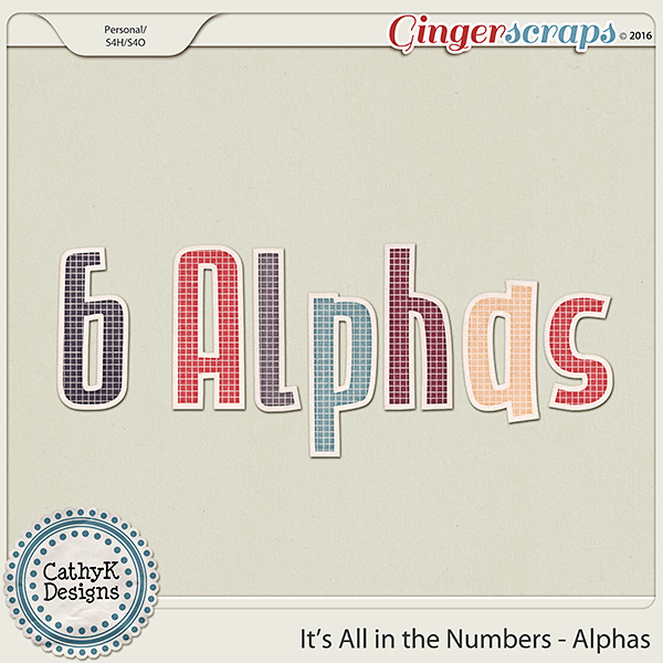 It's all in the Numbers - Alphas