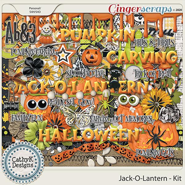 Jack-O-Lantern - Kit by CathyK Designs