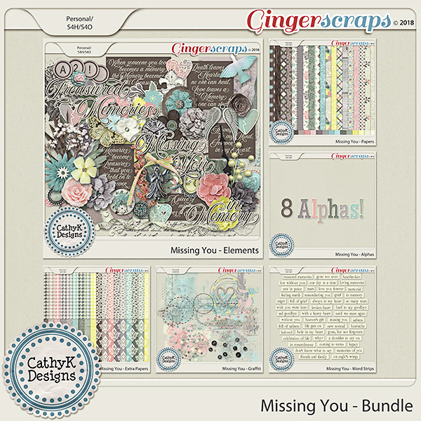 Missing You - Bundle by CathyK Designs