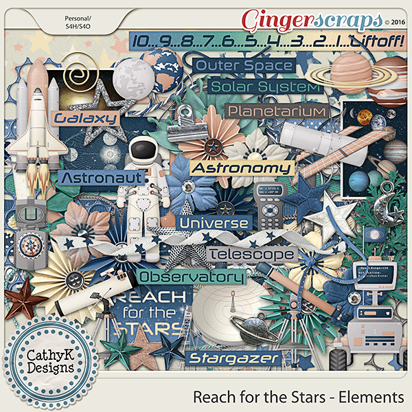 Reach for the Stars - Elements