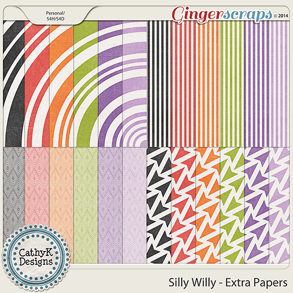 Silly Willy - Extra Papers