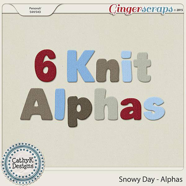 Snowy Day - Alphas