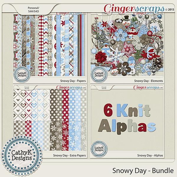 Snowy Day - Bundle