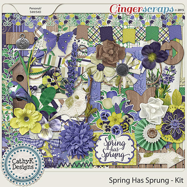Spring Has Sprung - Kit
