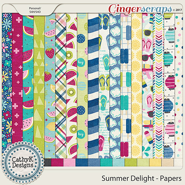 Summer Delight -Papers