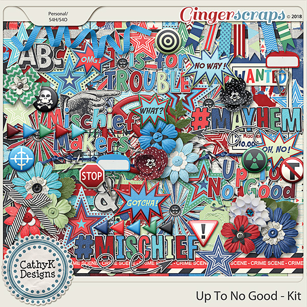 Up To No Good - Kit by CathyK Designs