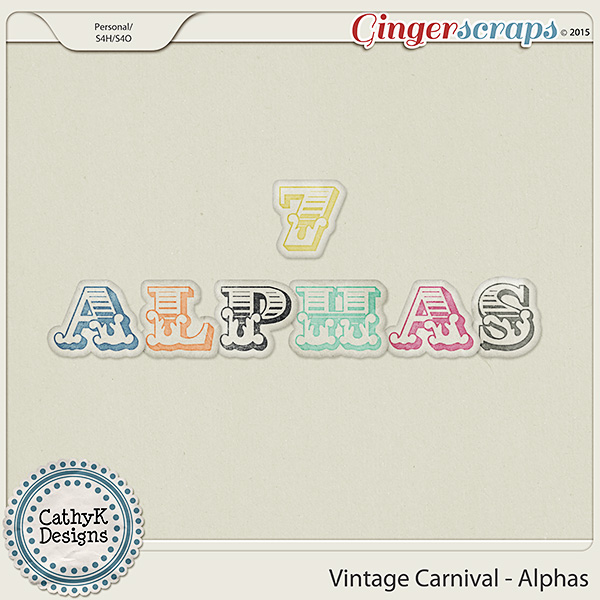 Vintage Carnival - Alphas