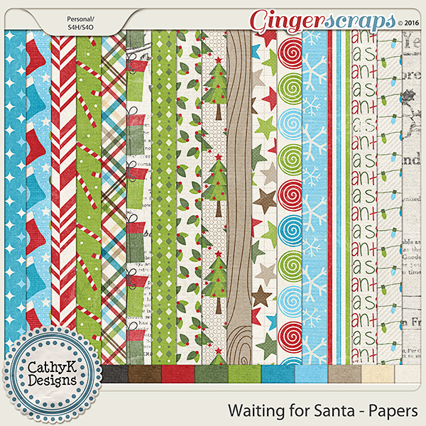 Waiting for Santa - Papers