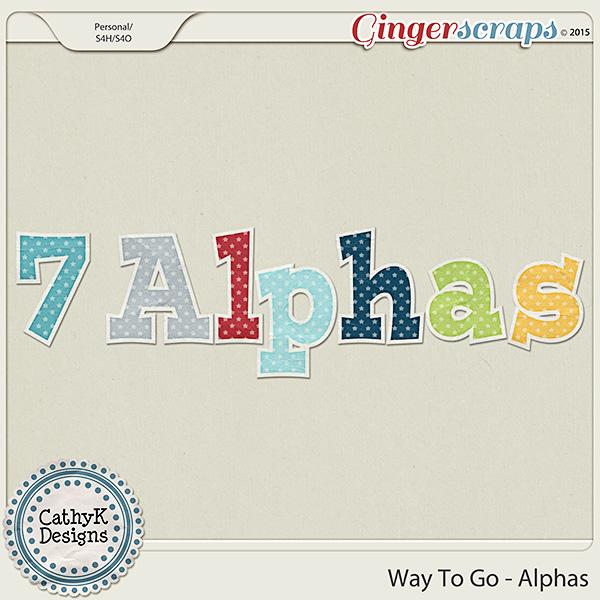 Way to Go - Alphas