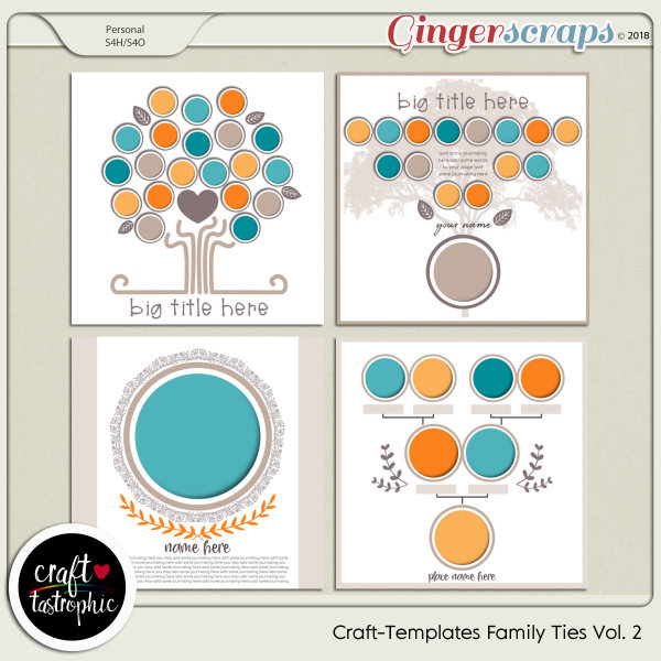 Craft-Templates Family Ties Vol 2